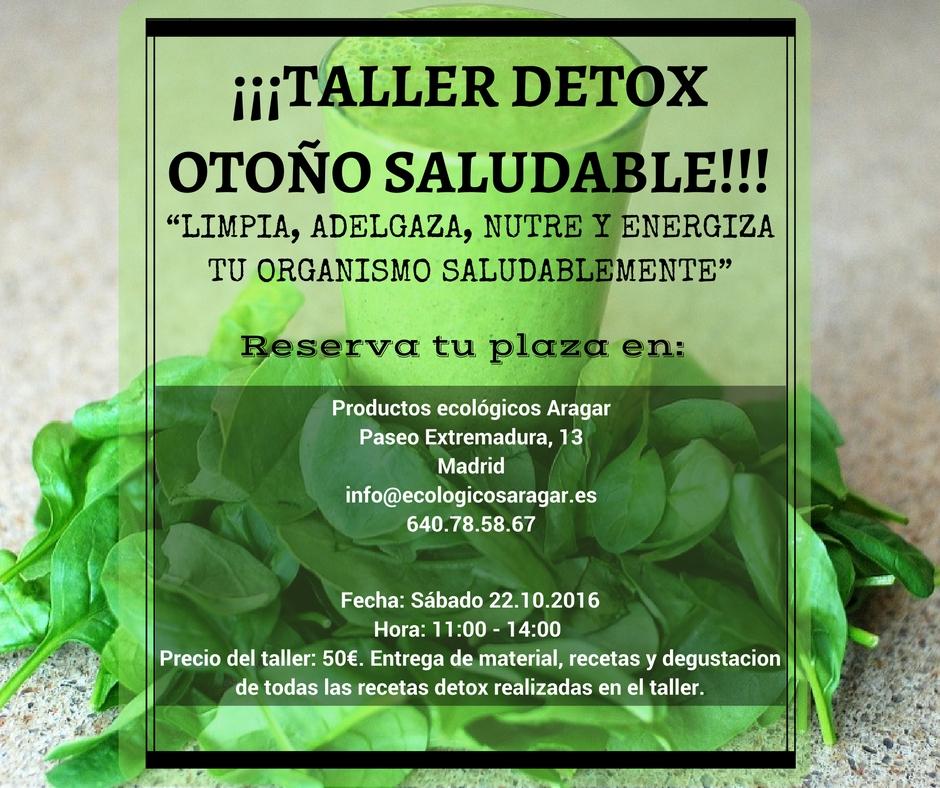 Categoría Taller Detox: TALLER DETOX OTOÑO SALUDABLE!!!